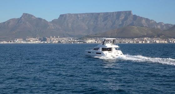 Leopard Catamaran Power Cruising
