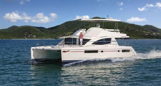 Leopard Catamaran with Yanmar Engine